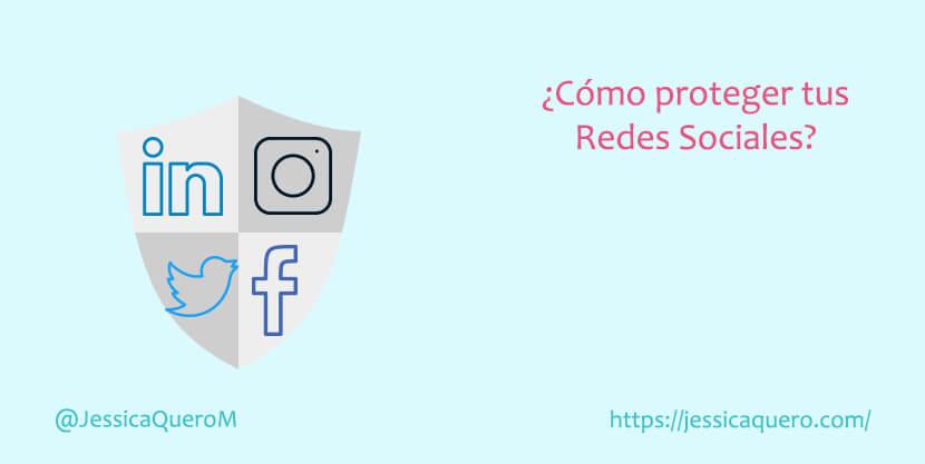 Portada Proteger Redes Sociales