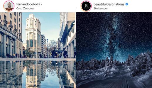 Paisajes - Ideas Instagram