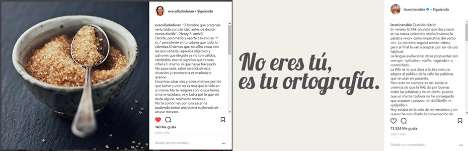 Textos - Ideas Instagram