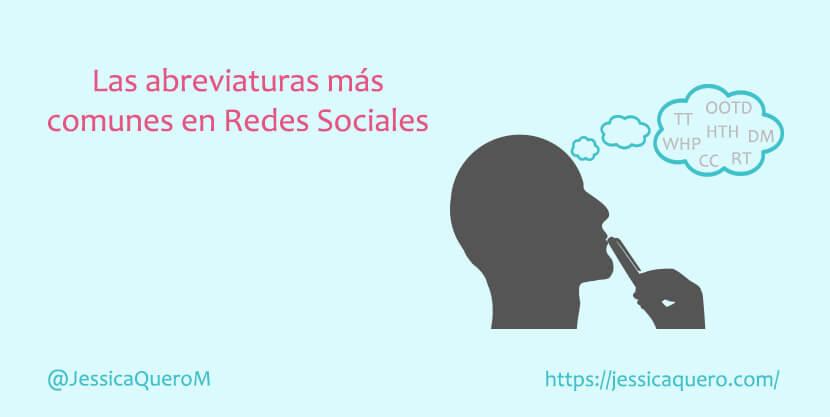 Portada Abreviaturas en Redes Sociales