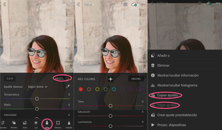 Lightroom - Filtros para Instagram