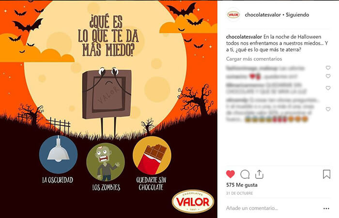 Calendario CM - Halloween - Valor
