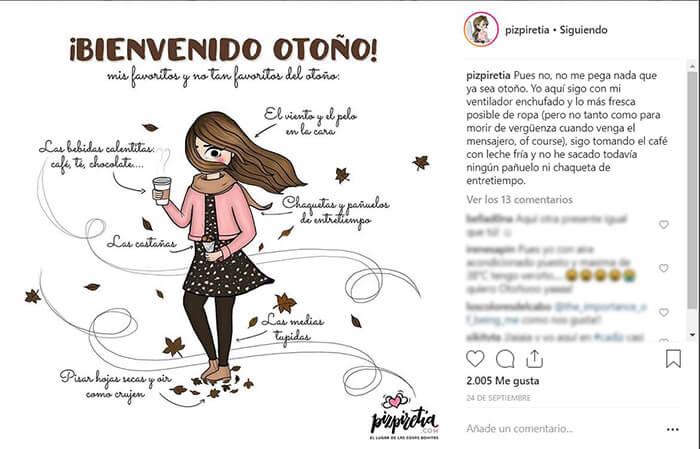 Calendario CM - Otoño - Pizpiretia
