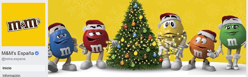 Calendario CM - Portada Navidad M&Ms