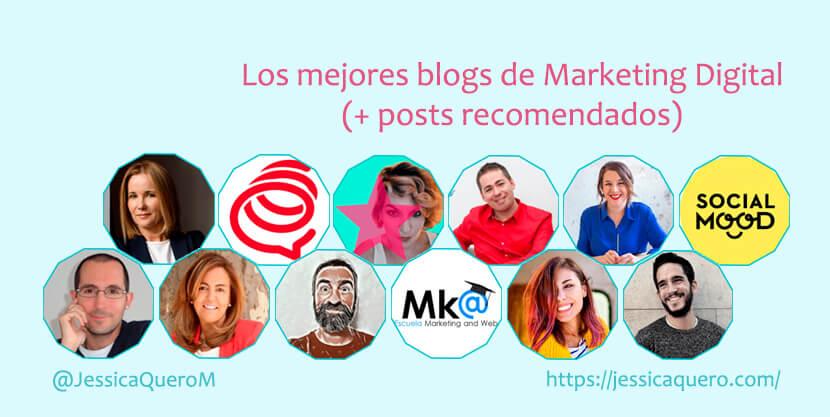 Portada Blogs de Marketing Digital