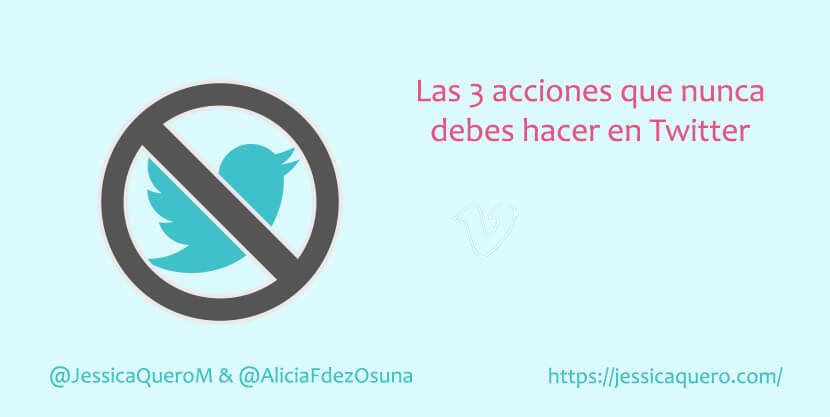 Portada Acciones evitar Twitter