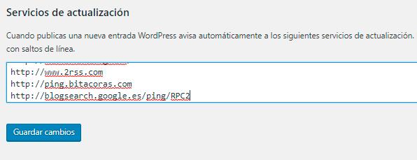 servicios de actualizacion seo para wordpress