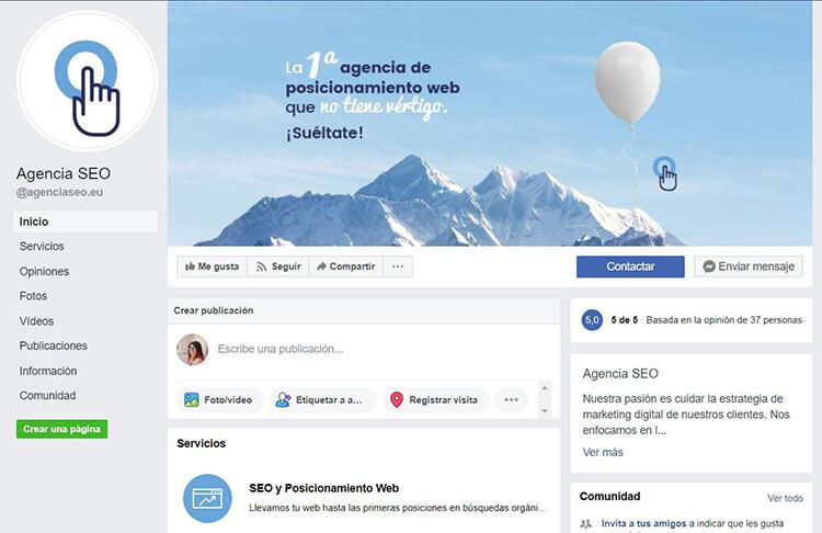 Facebook Agencia SEO