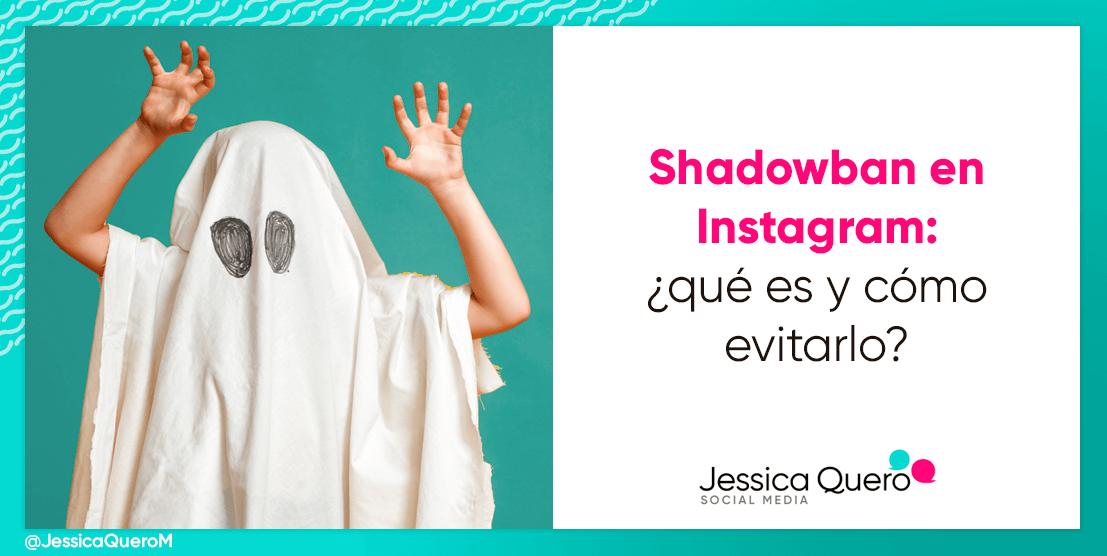 Portada Shadowban en Instagram