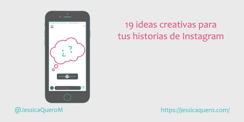 Portada Ideas historias Instagram